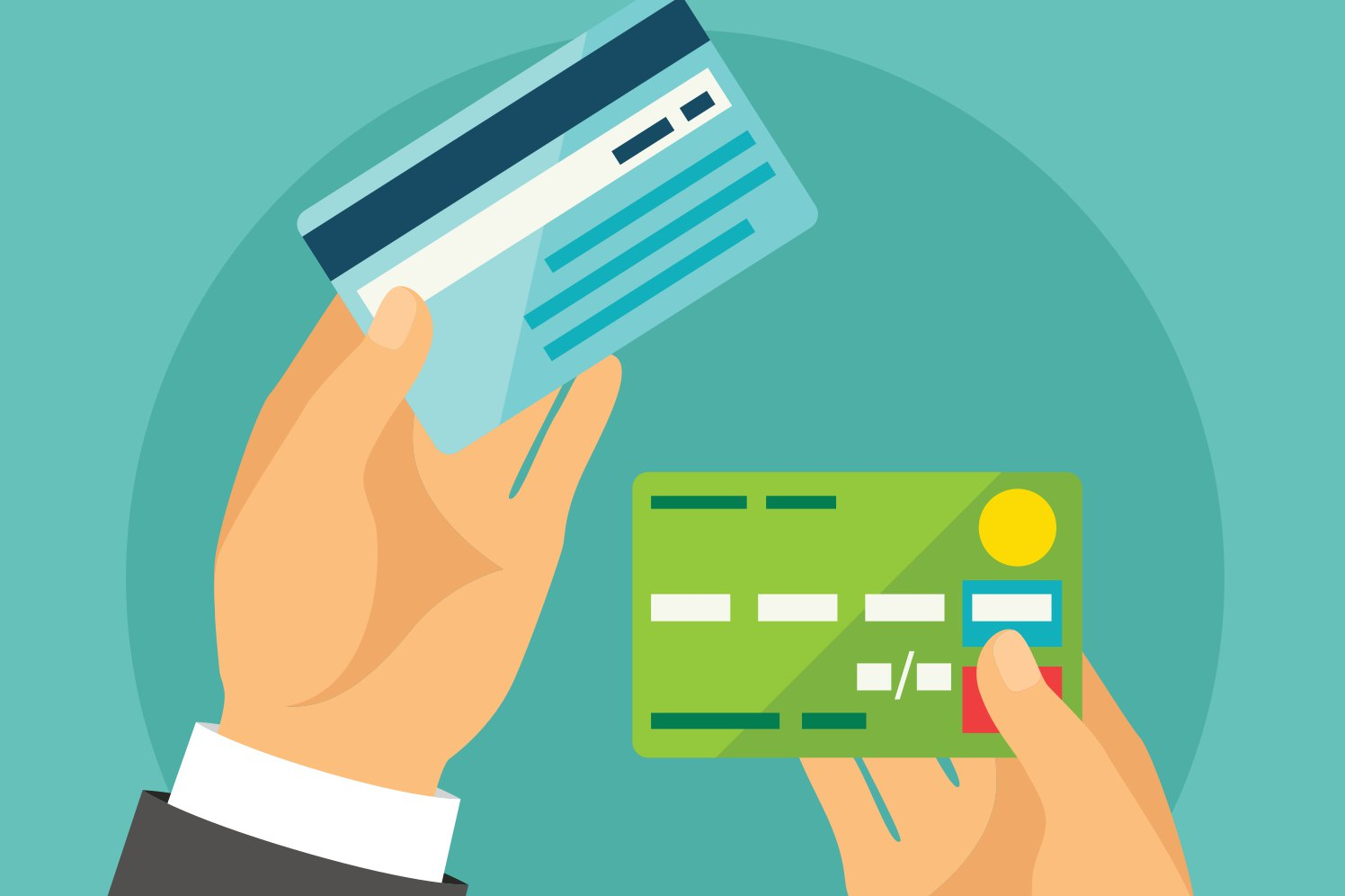How credit cards work positively?